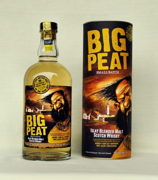 Big Peat ,  Blended Malt Whisky , 46%vol.  , 0,7l