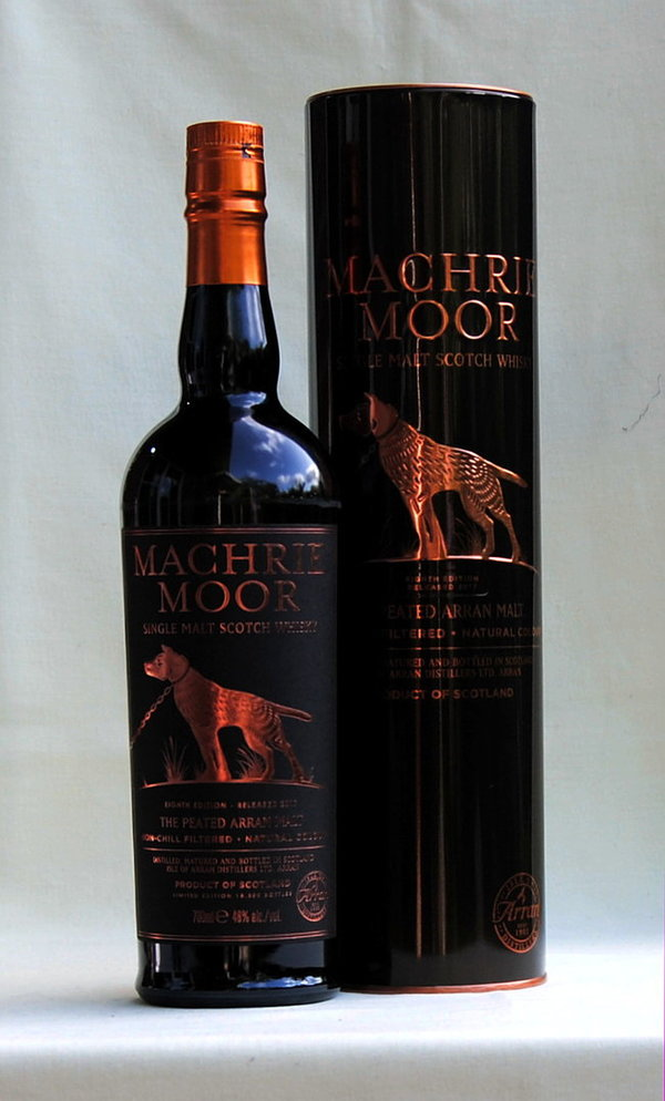 Arran Machrie Moor  Single Malt peated, 46%vol. 0,7l