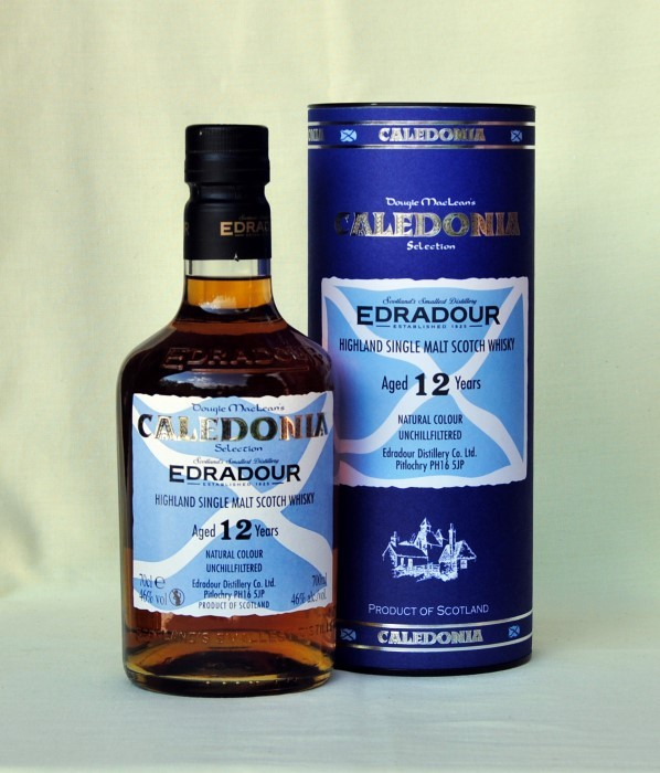 Edradour 12 Jahre Caledonia , Single Malt , 46%vol.  , 0,7l