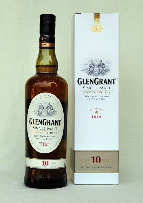 Glen Grant 10 Jahre  , Single Malt , 40%vol. , 0,7l