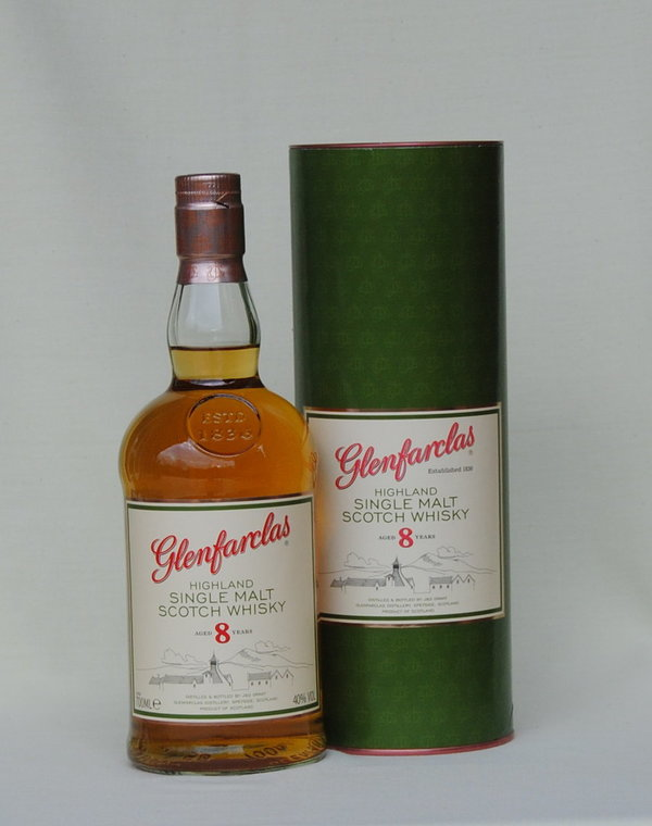 Glenfarclas 8 Jahre, Single Malt , 40%vol. 0,7l