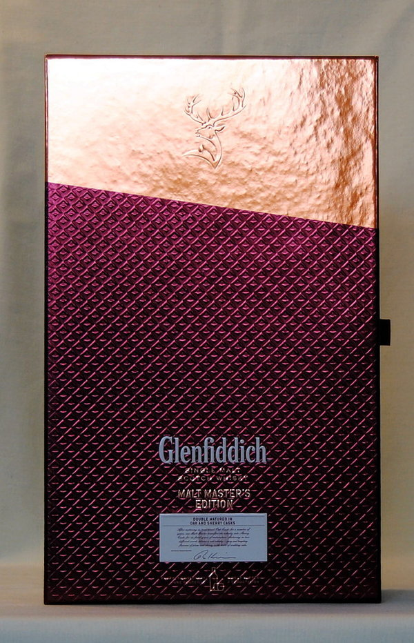 Glenfiddich Malt Masters Edition 2016  + 2 Original Tumbler in GP