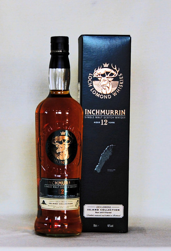 Inchmurrin 12 Jahre Island Collection, Single Malt, 46%vol. , 0,7l