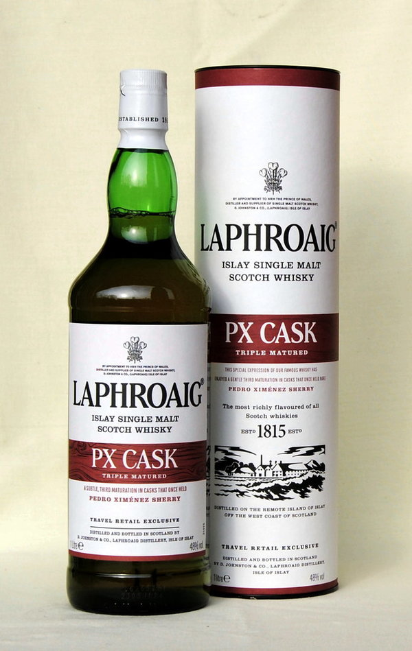 Laphroaig PX Cask, Islay Single Malt , 48%vol.,  1,0l