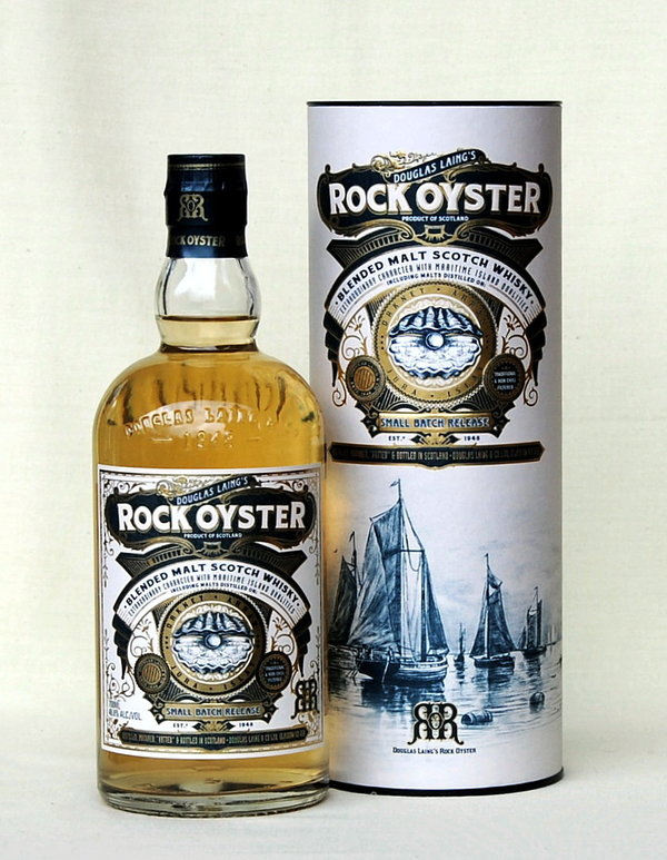 Rock Oyster, Blended Malt Whisky, Schottland, 46,3%vol. , 0,7l