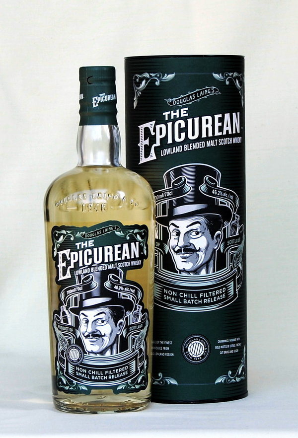 The Epicurean,  Blended Malt Whisky, Schottland, 46,2%vol., 0,7l