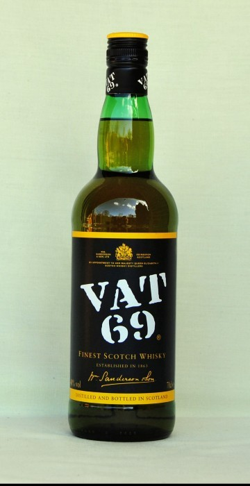 VAT 69, Blended Whisky, Schottland, 40%vol. , 0,7l