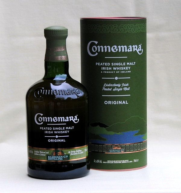 Connemara Original,  Peated Single Malt, Irland, 40%vol. 0,7l