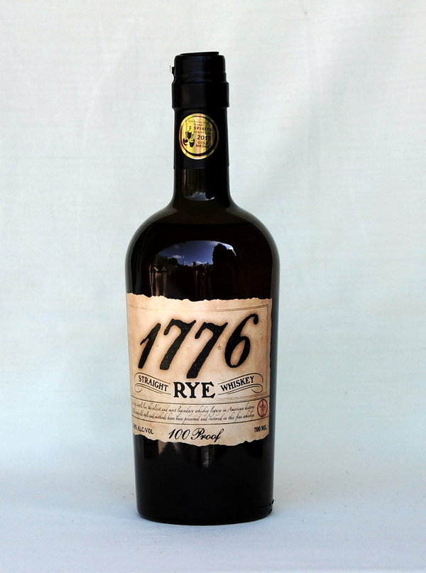James Pepper 1776,  Rye Whiskey, USA, 50%vol. , 0,7l