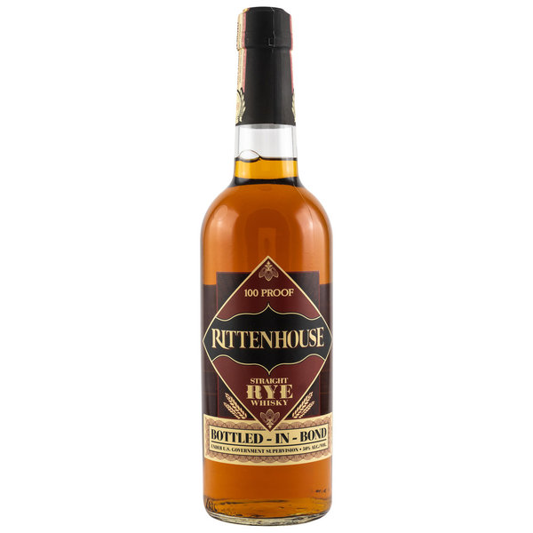 Rittenhouse, Straight Rye Whisky Bottled in Bond, USA, 50%vol. , 0,7l