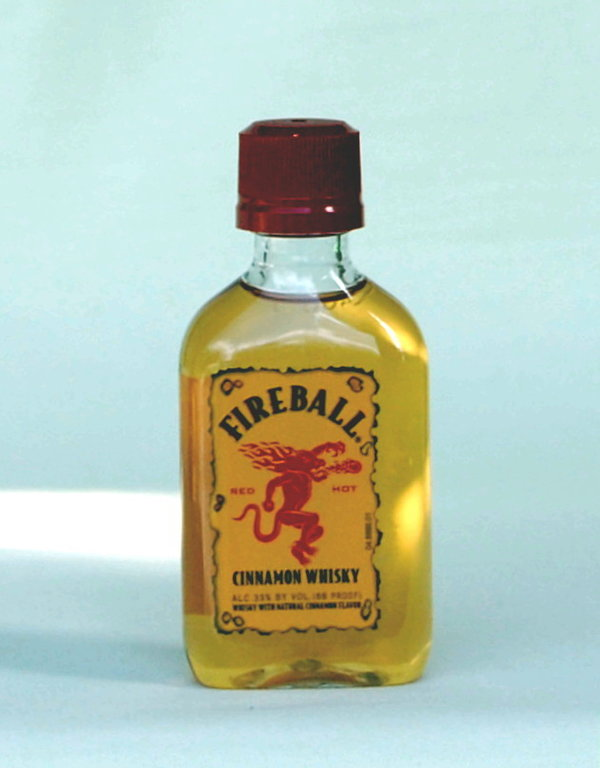 Fireball Cinnamon Whisky-Liqueur  Mini