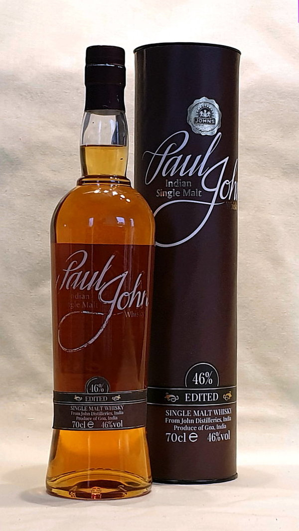 Paul John Edited, Single Malt, Indien, 46%vol. , 0,7l
