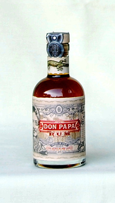 Don Papa,  Rum,  Philippinen, 40%vol.  0,2l
