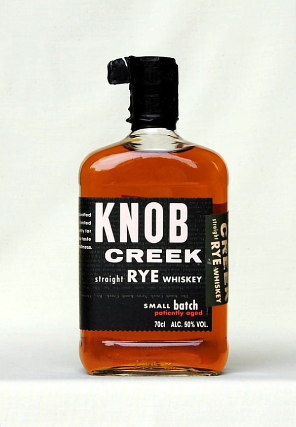 Knob Creek Straigth Rye, Small Batch, USA, 50%vol., 0,7l