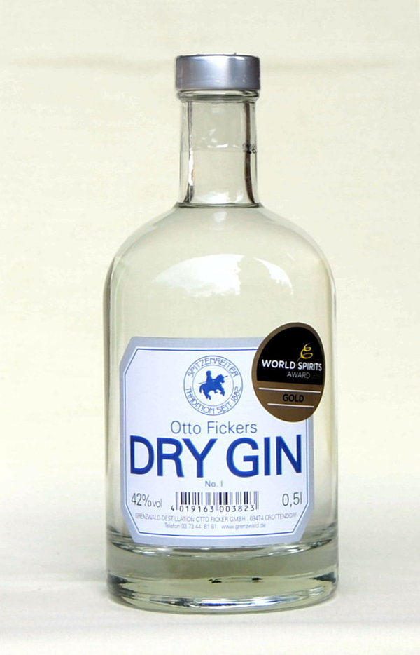 Otto Fickers Dry Gin N°1