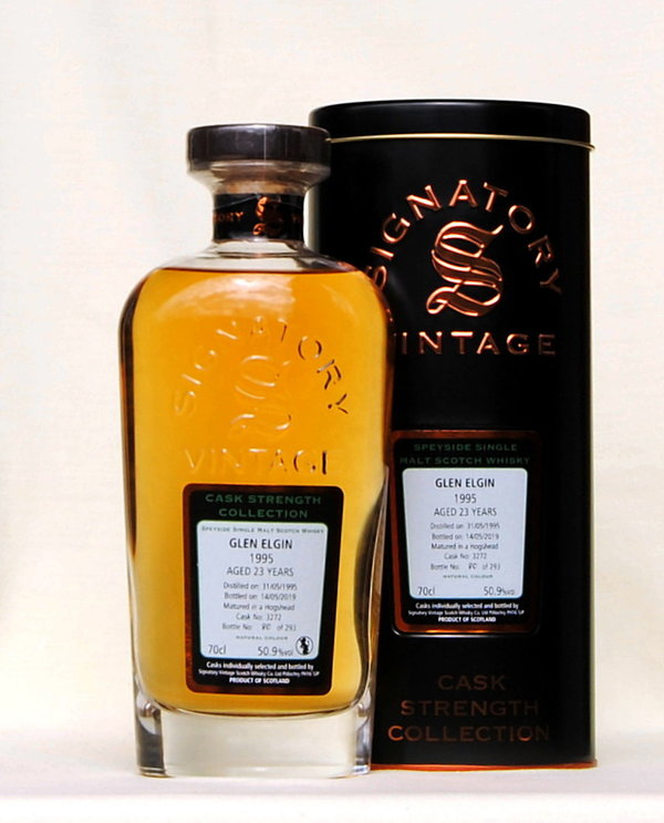 Glen Elgin 1995, Single Malt, Signatory, Schottland, 50,9%vol., 0,7l