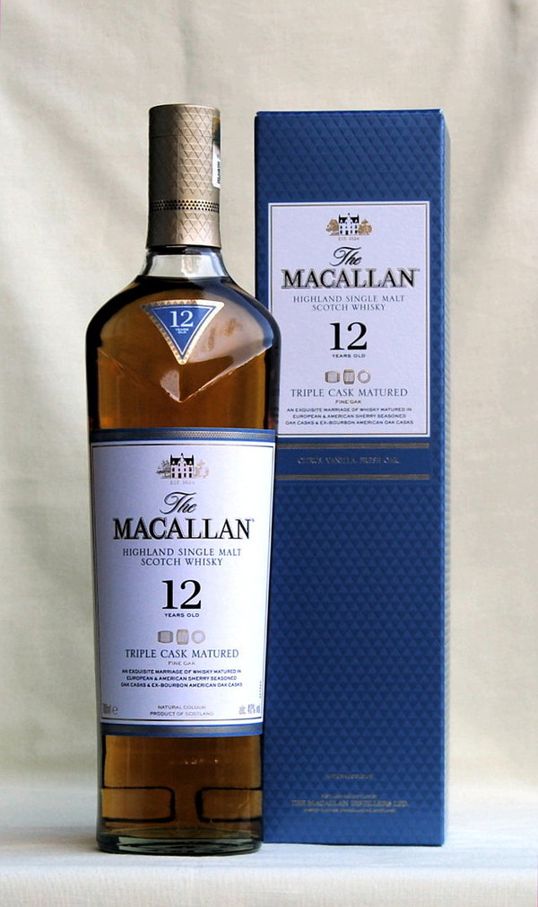 Macallan 12 Jahre Triple Cask, Single Malt, Schottland, 40%vol., 0,7l