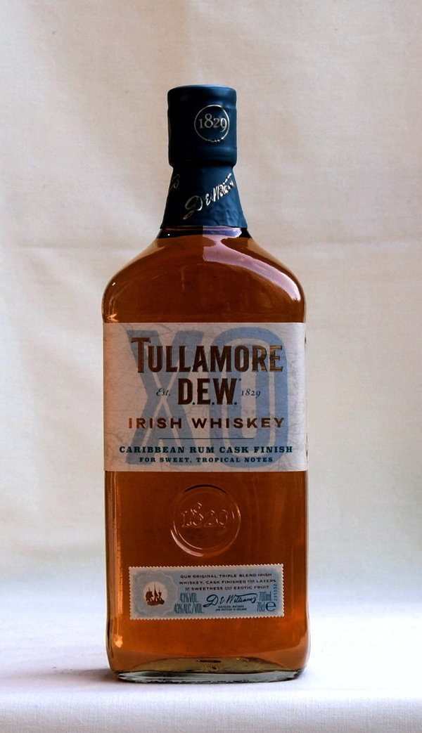 Tullamore DEW Xo Caribbean Rum Cask Finish, Irish Whiskey, 40%vol. , 0,7l