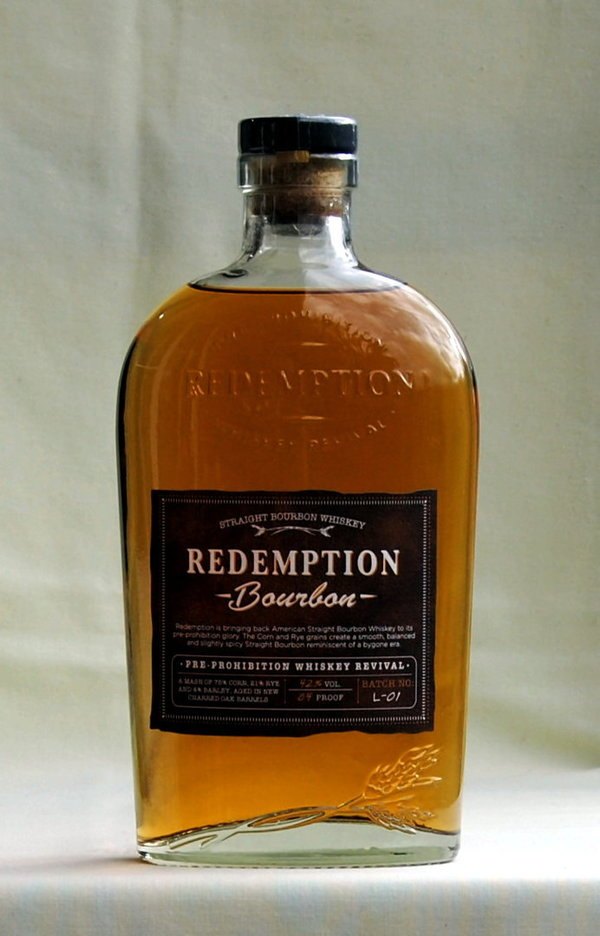 Redemption, Straight Bourbon, USA, 42%vol., 0,7l