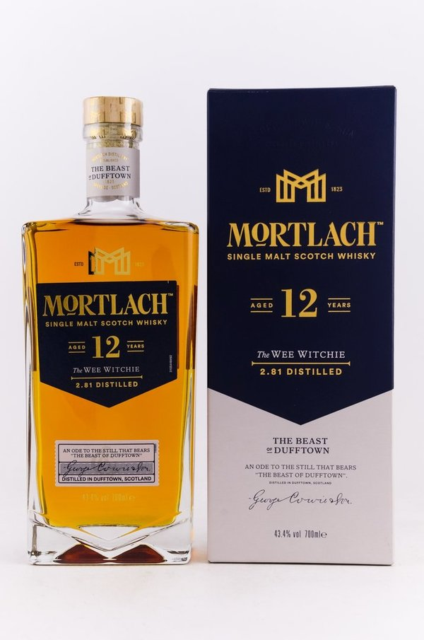 Mortlach 12 Jahre  Wee Witchie